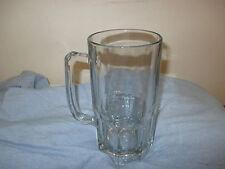 "Large Vintage Anchor Hocking Wagon Beer Mug  8"" tall x 4"" rim Holds 32 oz liquid"