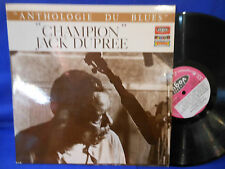 CHAMPION JACK DUPREE anthologie BIEM ORIG FRANCE EXC+