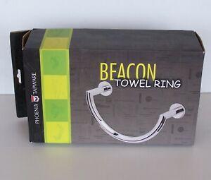 BEACON CHROME-PLATED U-SHAPE TOWEL RING HOLDER By PHOENIX TAPWARE BATHROOM