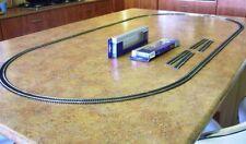 Set HO Scale Model Train Tracks