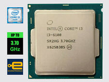 Intel Core i3-6100 3.70 GHz Dual Core - Skylake - LGA1151 - 100% Tested
