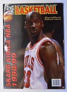 Magic Basketball #1/2(52) Jan/Feb 1998 Polish Magazine Michael Jordan