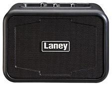 Laney Ironheart Mini-Iron 3 Watt Battery Powered Desktop Guitar Amp Black