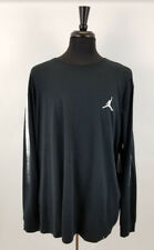 Mens Jordan Pullover Shirt Tee 3XL Black & White w/ Jordan Logo on chest!