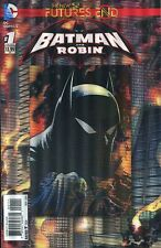 Batman And Robin Futures End #1 Cover A 3D Motion Cover (2014, DC)