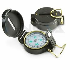 Camping Hiking Outdoor Military Lensatic Prismatic Sighting Compass Backpacking