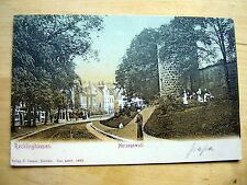 VERY OLD PPC~RECKLINGHAUSEN~HERZOGSWALL~ANIMATED~UNDIVIDED~ca 1905