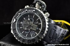 Invicta Mens 58mm Lim Edi Marvel Punisher Sea Hunter Chrono Silicone SS Watch