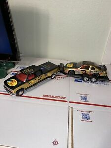 Brookfield Dale Earnhardt #3 Bass Pro Shops 1:25 Car Crew Cab Trailer Trackside