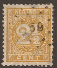 Numeral Cancellation Used Single European Stamps