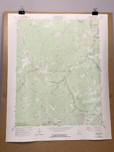 Winona West Virginia Fayette County WV Map 1976 Geological Topographical Survey