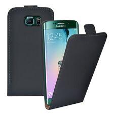 Clapet Deluxe Sac Noir pour Samsung Galaxy S8 Plus G955 G955F Étui COQUE