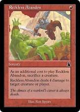 RECKLESS ABANDON Urza's Destiny MTG Red Sorcery Com