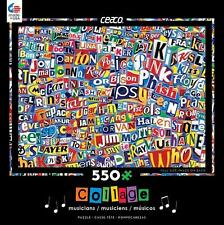 CEACO COLLAGE SERIES JIGSAW PUZZLE MUSIC 550 PCS #2328-3