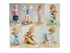 EUC LENOX DAYS OF THE WEEK FIGURINES SET OF 7 FIGURES