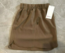 Lululemon On the Fly Skirt FRNT Frontier Brown Size 6 NWT