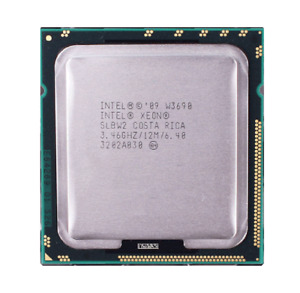 Intel Xeon W3680 W3570 W3580 W3690 W3670 LGA1366 CPU Processor