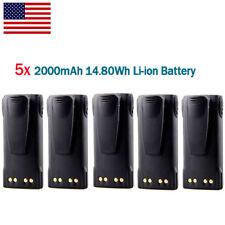 9X Ni-Mh 1800mAh 7.5V HNN9628 Battery for MOTOROLA GP300 GP88 LTS2000 GTX