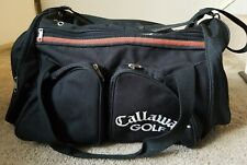Callaway Golf Travel Tote Carry On Gym Sport Duffel Luggage Bag With Logo