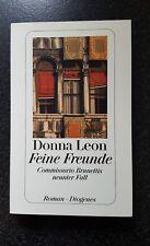 wie NEU * Feine Freunde von Donna Leon * Taschenbuch *