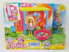 NEW Barbie Chelsea Fun House Playset With DVD (see description)