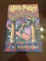 Harry Potter and the Sorcerer's Stone Oct 1998 1st American Edition U.S.A. Print