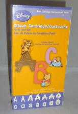 :: Cricut Cartridge - DISNEY POOH FONT craft use w/ all machines complete
