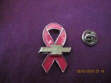 Cancer Awareness Lapel Pin Jewelry Rare New Chevy Bowtie Pink Breast