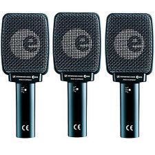 3 PACK Sennheiser E906 Supercardioid Dynamic Guitar Microphone  *BRAND NEW*