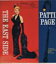 PATTI PAGE The East Side Emarcy MG-36116 Vinyl LP 33 Pop Album EX Mono 1957