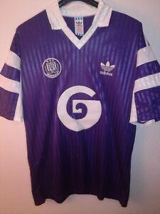 ANDERLECHT 1990-1991 shirt camiseta maillot trikot maglia adidas