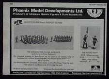 Phoenix model developments figurines Northampton   advert publicité