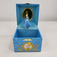 Disney Cruise Line Cinderella Tea Music Jewelry Box Dancing