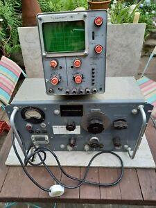 VHF SIGNAL GENERATOR & TELEQUIPMENT OSCILLOSCOPE S54A - WAYNE KERR - MORE LIST