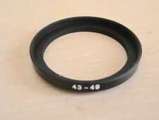 43-49mm STEP-UP ADAPTER RING for CAMERA LENSES & FILTERS