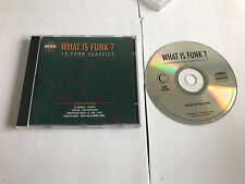 Various Artists - What Is Funk : 12 Funk Classics (12 trk CD / 1994) MINT