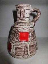 "70´s Schlossberg Keramik Fat Lava Vase "" Capri ""  Design Ilse Stephan 270-15 rar"