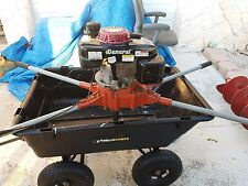 GENERAL 2 MAN AUGER M330H WITH BIT - GUARANTEED WITH HONDA ENGINE -LOW HRS