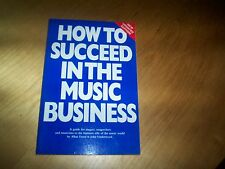 book omnibus press how to succeed in the music business allan dann j underwood