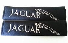 JAGUAR Seat-belt Covers Shoulder Pads (2) Car Safety Cushion harness soft Velcro