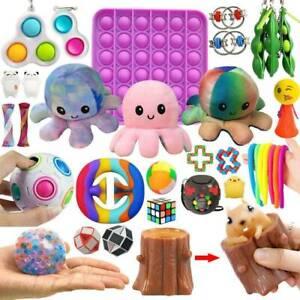 Push Pop It Bubble Set Sensory Fidget Toy Autismus SEN ADH Stressabbau Spielzeug