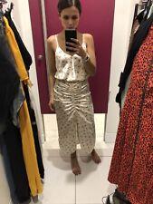 Topshop Size 12 Bnwt Floral Satin Dress Strappy