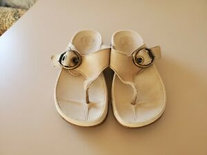 Fitflop Womens Beige Flip Flop Sandals Size 7 M