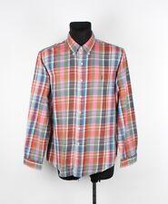 Ralph Lauren Coupe Ajustée Hommes Multi-Coloré Chemise Taille: XL, Véritable
