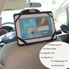 In Car Headrest Mount Holder For Galaxy Tab A S3 S4 iPad Pro 10.5 10.1 Tablets