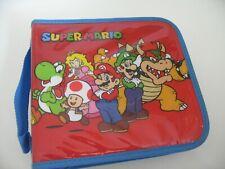 Super Mario Universal FOLIO Travel Zip  Soft Case - Nintendo 3DS / DS / 2DS XL