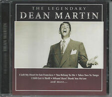 "CD ""The Legendary Dean Martin"" (Incl a song w/Helen O'Connell) - FREE SHIPPING!"