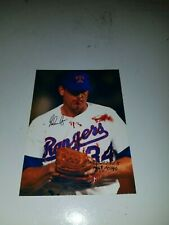 Nolan Ryan Numbered Ultimate Fan Collectibles 3 X 5 Photo