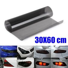 New 60 x 30CM Black Car Headlight Taillight Tint Vinyl Smoke Film Sheet Sticker