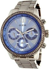Guess Women's U0559L4 Silver Stainless-Steel Quartz Fashion Watch
